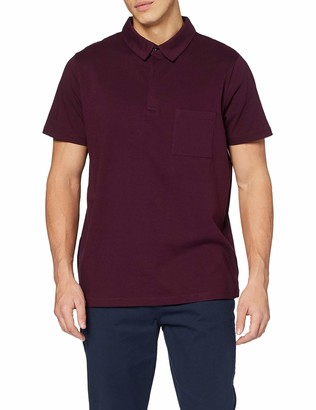 Jacamo Men's Stretch Short Sleeve Jersey Polo Regular Shirt