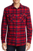 Superdry Milled Flannel Plaid Regular Fit Button Down Shirt