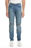 Givenchy Men's Zip Detail Biker Jeans