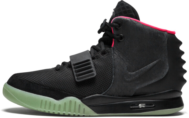 Nike Air Yeezy 2 NRG 'Solar Red' Shoes - Size 8.5