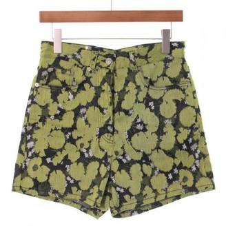 Dries Van Noten Black Viscose Shorts