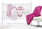 Swaddle Designs 6 Piece Lightweight Crib Bedding Set with Luxury Adult Blanket