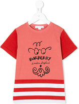 Burberry logo printed T-shirt - kids - Cotton - 3 yrs