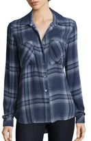 Bella Dahl Long Sleeve Plaid Shirt