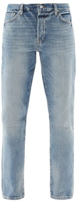 Frame Le Slouch High-rise Tapered-leg Jeans - Light Denim