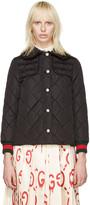 Gucci Black Caban Coat