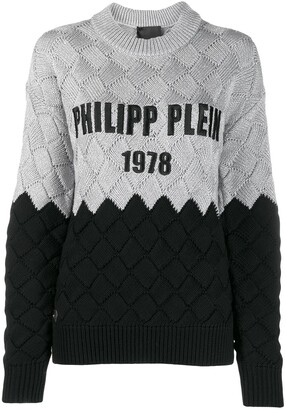 Philipp Plein Braid Effect Jumper