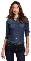 Calvin Klein Jeans Women's Fitted Denim Shirt
