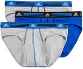 adidas 3-pk. Climalite Athletic Stretch Briefs