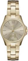 DKNY Women's Casual Case Gold-Tone Stainless Steel Bracelet Watch 36mm NY2517