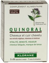 Klorane Quinoral Anti Hair Loss 60caps