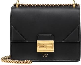 Fendi Kan U Small leather shoulder bag