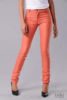 Tight Skinny Jeans in YD Orange