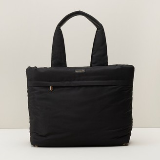 Love & Lore Love And Lore Padded Tote Black