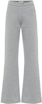 Dorothee Schumacher Cotton-blend flared pants