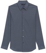 Theory Irving Dash Print Dress Shirt