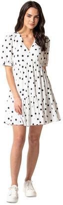 Forever New Ainsley Smock Mini Dress