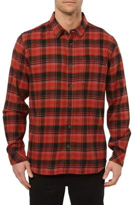 O'Neill Redmond Regular Fit Plaid Flannel Shirt