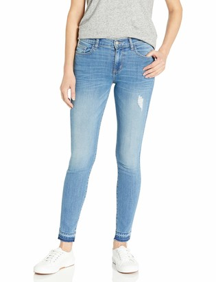 Siwy Women's Lauren Mid Rise Skinny Jeans in 10 Years Gone 23