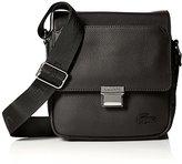 Lacoste Men's Rafael Leather Small Crossover Bag