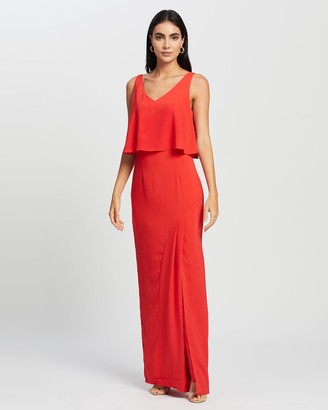 Romance by Honey and Beau - Women's Red Maxi dresses - Mystic Maxi - Size One Size, 10 at The Iconic