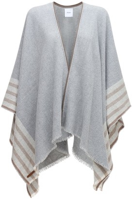Agnona Cashmere Knit Poncho