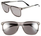 Carrera Men's Eyewear 57Mm Retro Sunglasses - Light Grey