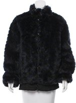 Marc by Marc Jacobs Faux-Fur Short Coat