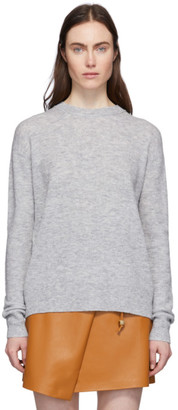 Acne Studios Grey Alpaca and Wool Crewneck Sweater