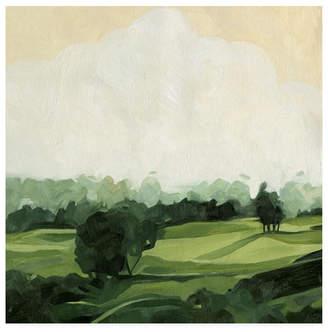 "Emma Scarvey Olive Afternoon I Canvas Art - 36.5"" x 48"""