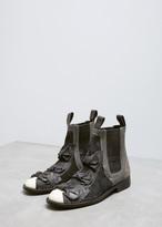 Comme des Garcons Black Bow Detail Chelsea Boot