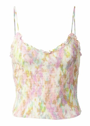 ASTR the Label Women's Sleeveless V-Neck Camisole Mika Top
