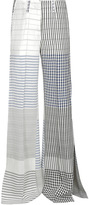 Dondup Hugey Flared Checkered Trousers