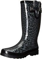 Western Chief Women's Leopard Swirl Rain Boot