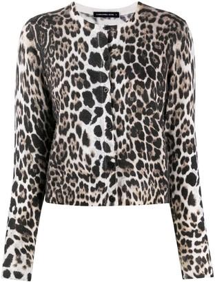 Samantha Sung Carolina leopard cardigan