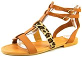 Nine West Bocce Women US 8 Brown Gladiator Sandal