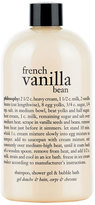 philosophy 'French Vanilla Bean' Shampoo, Shower Gel & Bubble Bath