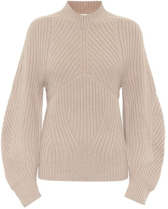Low Classic Rib-knit stretch wool-blend sweater