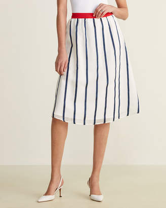 Le Mont St Michel Jersey Waist Skirt