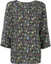 Odeeh mermaid print blouse - women - Silk - 40