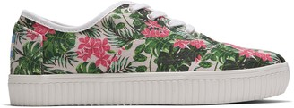 Toms Multi Floral Print Canvas Women's Cordones Indio Sneakers