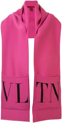 Valentino VLTN patch pockets scarf