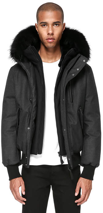 Mackage DIXON-W HIP LENGTH WINTER DOWN PARKA WITH FUR