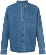 Simon Miller fitted denim shirt
