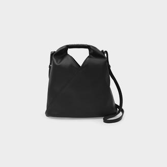 MM6 MAISON MARGIELA Handbag Japanese Xs Micro In Black Eco Leather