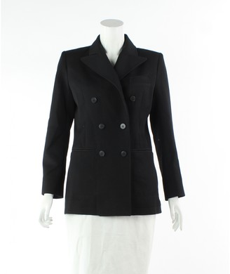Louis Vuitton Black Wool Coats