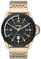 Diesel Men's DZ1789 Rollcage Gold Watch