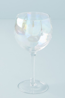 Iridescent Wine Glasses, Set of 4 By Gather by Anthropologie in White Size RED WINE