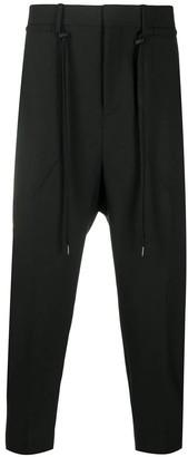 Neil Barrett Black Virgin Wool Blend Trousers