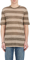 Helmut Lang Men's Rugby-Striped Jersey T-Shirt